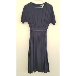 Blue flowy dress, like new
